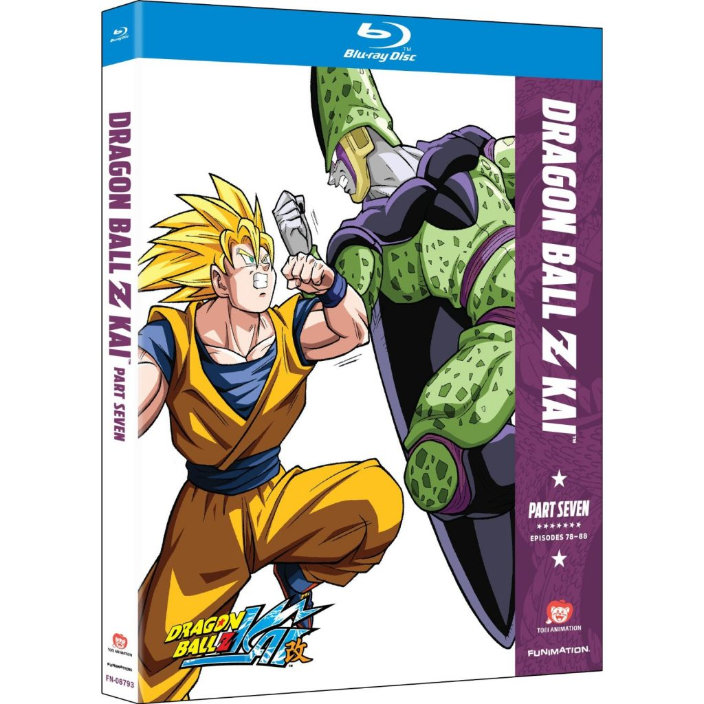 Dragon Ball Z Kai Part Seven - DVDs Blu-rays Anime Março 2012