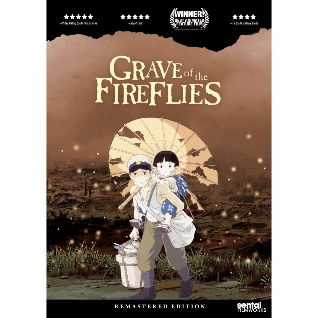 Grave of the Fireflies - DVDs Blu-rays Anime Março 2012