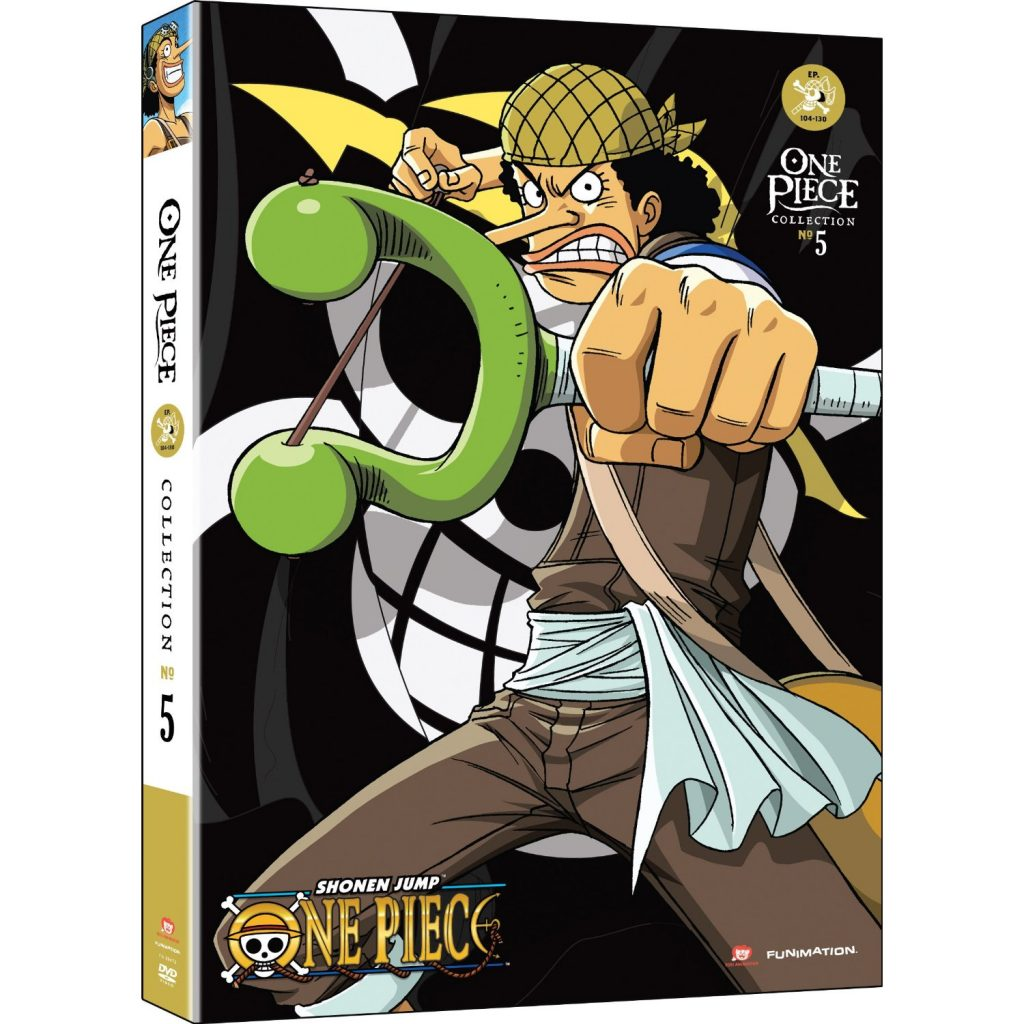One Piece Collection Five - DVDs Blu-rays Anime Março 2012