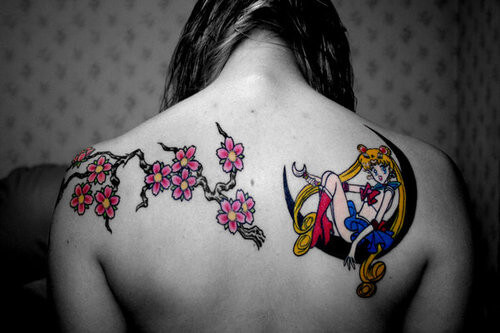 tatuagens inspiradas no universo Anime - Sailor Moon