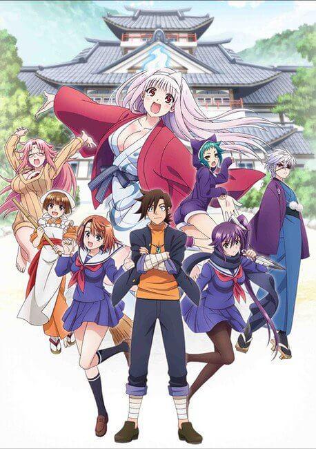 Yuragisou no Yuuna-san - Anime revela novo Visual | Yuragi-sou no Yuuna-san - Anime revela Longo Vídeo Promo