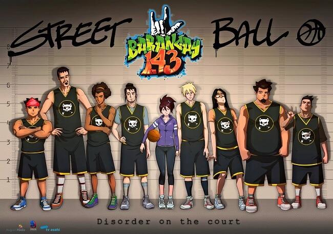 Barangay 143 - Anime Filipino de Basketball revela Trailer