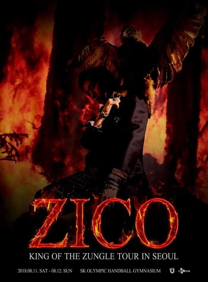 Block B - Zico realiza Primeiro Concerto em Seul