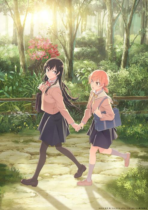 Bloom Into You - Anime revela Data de Estreia