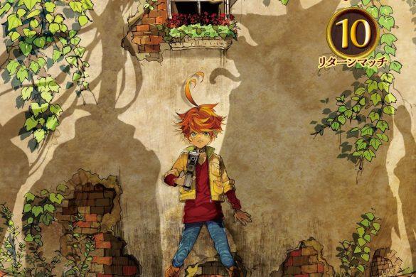 Capa Manga Yakusoku no Neverland Volume 10 Revelada