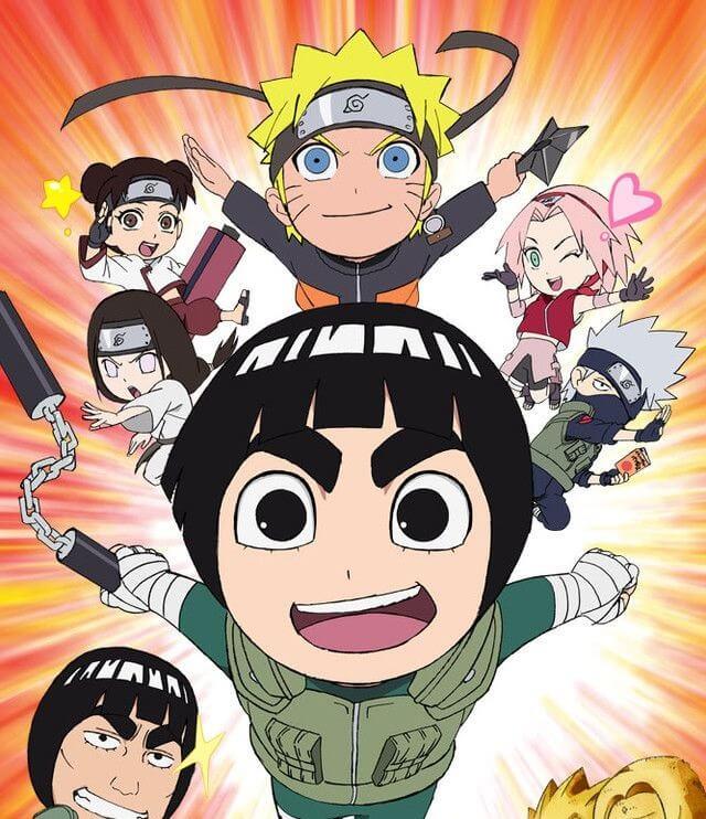 Curtas da Semana ptAnime #14 - Naruto SD Rock Lee no Seishun Full-Power Ninden