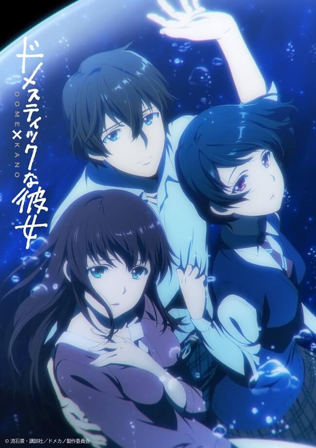 Domestic na Kanojo - Manga vai receber Anime
