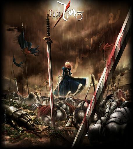 Lista Animes Primavera 2012 - Fate Zero 2