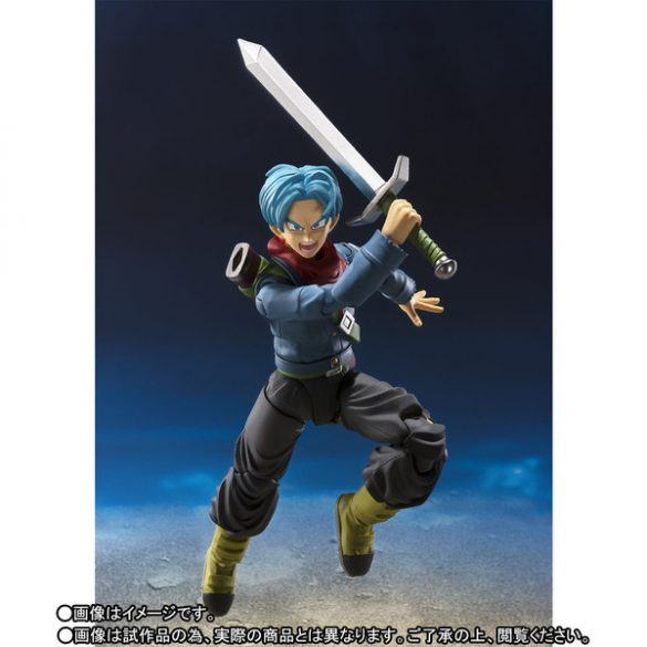 Future Trunks SSJ2 de Dragon Ball Super pela SH Figuarts