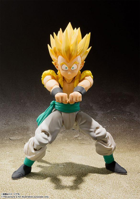 Gotenks SSJ de Dragon Ball Z pela SH Figuarts
