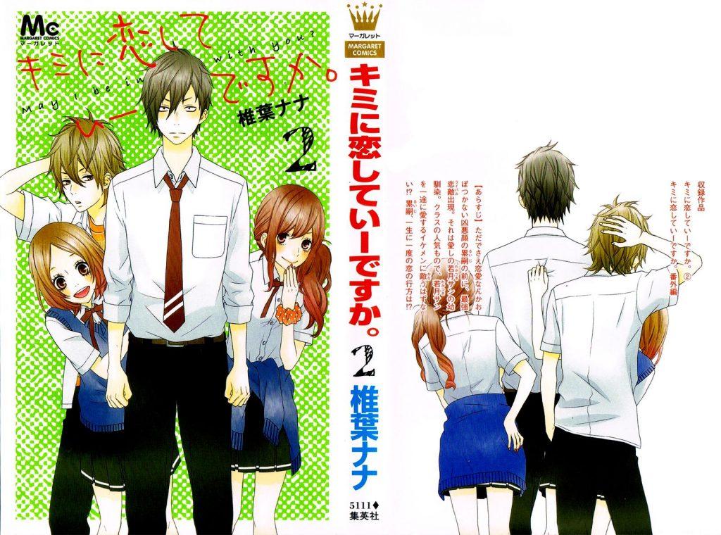 Noites de Mangas - Kimi ni Koishite Ii desu ka - Capa Volume 2