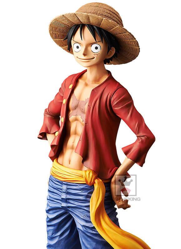 Luffy Grandista da Banpresto está quase a Chegar