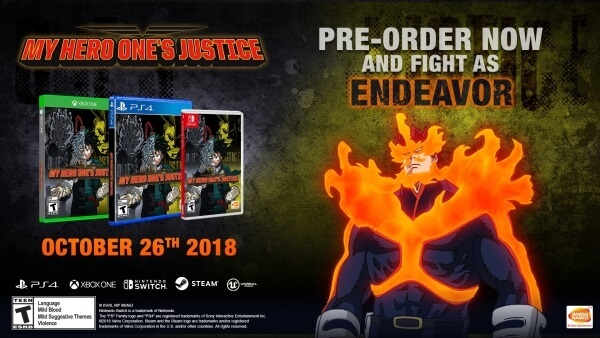My Hero One's Justice - Trailer revela Dia de Estreia Ocidental | My Hero One's Justice - Vídeos destacam Gran Torino e Muscular | My Hero One's Justice - Trailer Legendado | My Hero Academia One's Justice - Vídeos mostram Modos de Jogo