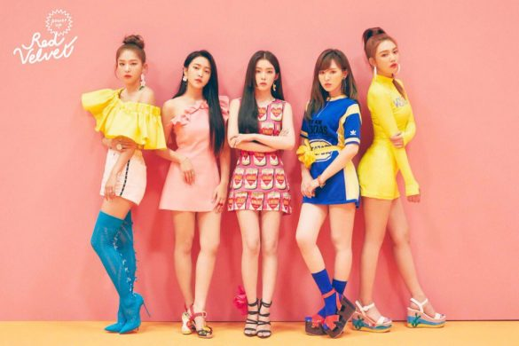 Red Velvet revelam Adorável Formato Físico de Summer Magic destaque