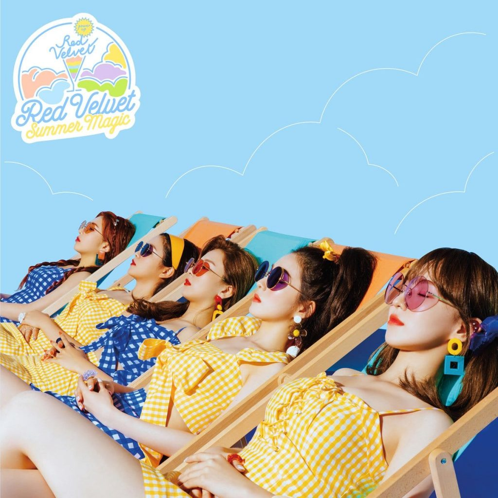 Red Velvet revelam Teasers para Comeback com Summer Magic 1
