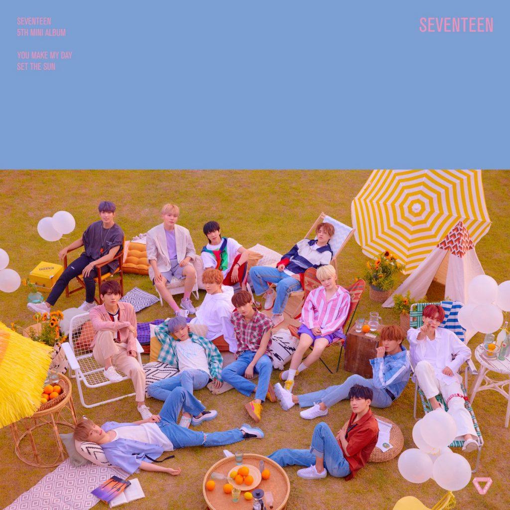 SEVENTEEN revelam Imagens de Grupo para Comeback group teaser