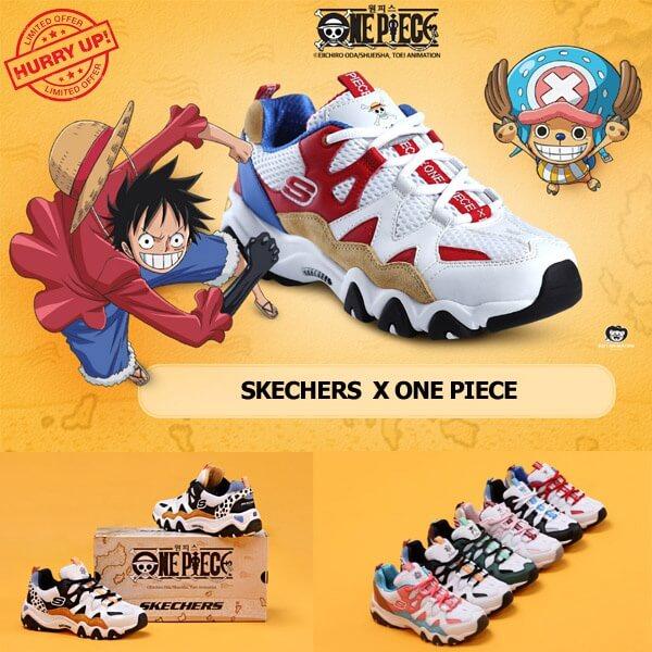 Coleção Skechers Oficial One Piece já em Portugal!