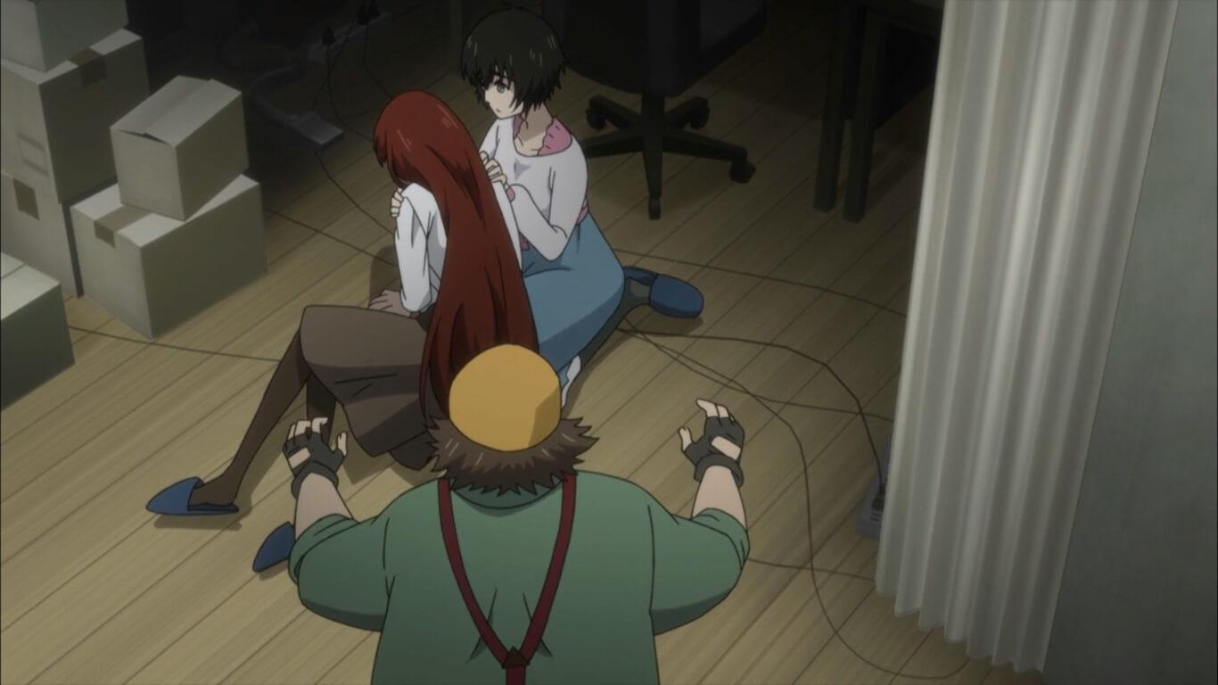 Steins;Gate 0 - opinião episódio 12 memórias de Kagari