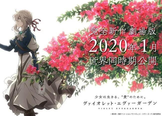 Violet Evergarden revela Filme Anime - Vídeo Anúncio