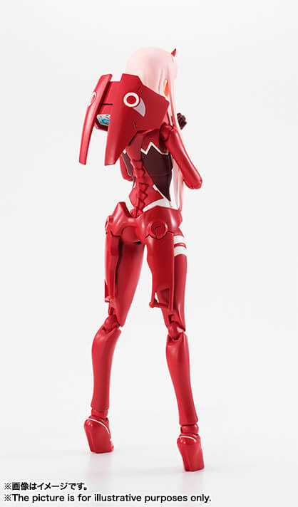 Zero Two de Darling in the FranXX pela SH Figuarts