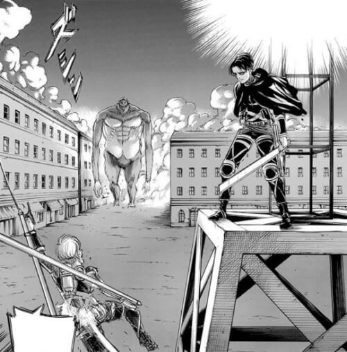 Attack on Titan Volume 25 - Levi vs Zeke