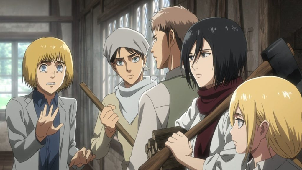Attack on Titan 3 Episódio 38 - Equipa Limpeza Survey Corps
