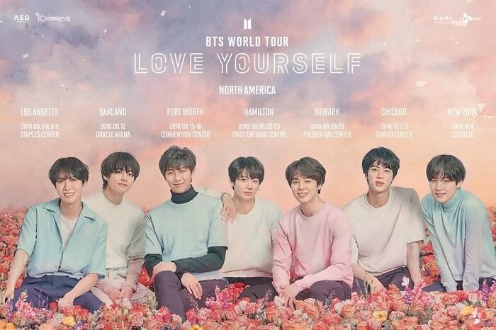BTS tornam-se 1º Artistas Coreanos a dar Concerto em Estádio nos EUA