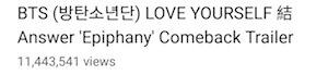 BTS - Comeback Trailer atinge Visualizações Incríveis em 24 horas