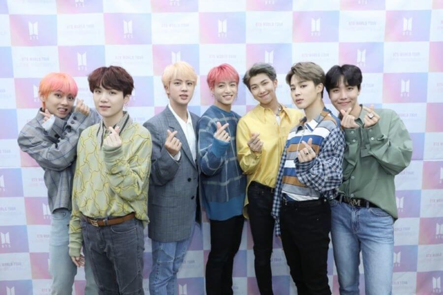 BTS dizem sentir-se Honrados com a Tour Mundial Love Yourself