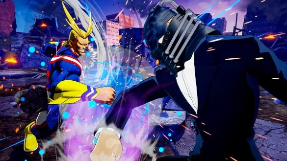 My Hero Academia One's Justice adiciona All For One