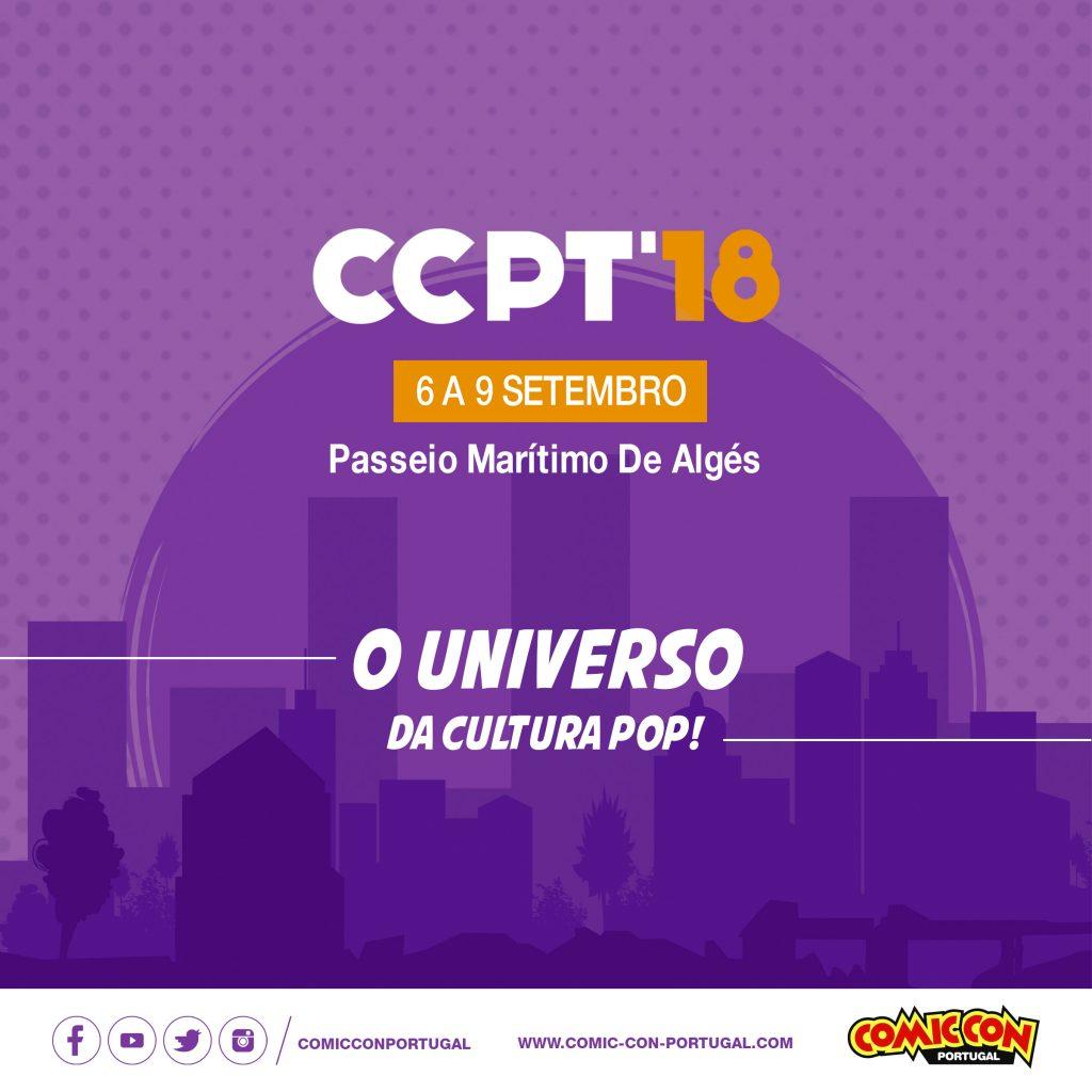 Calendário de Eventos Setembro 2018 - Comic Con Portugal 2018 Evento