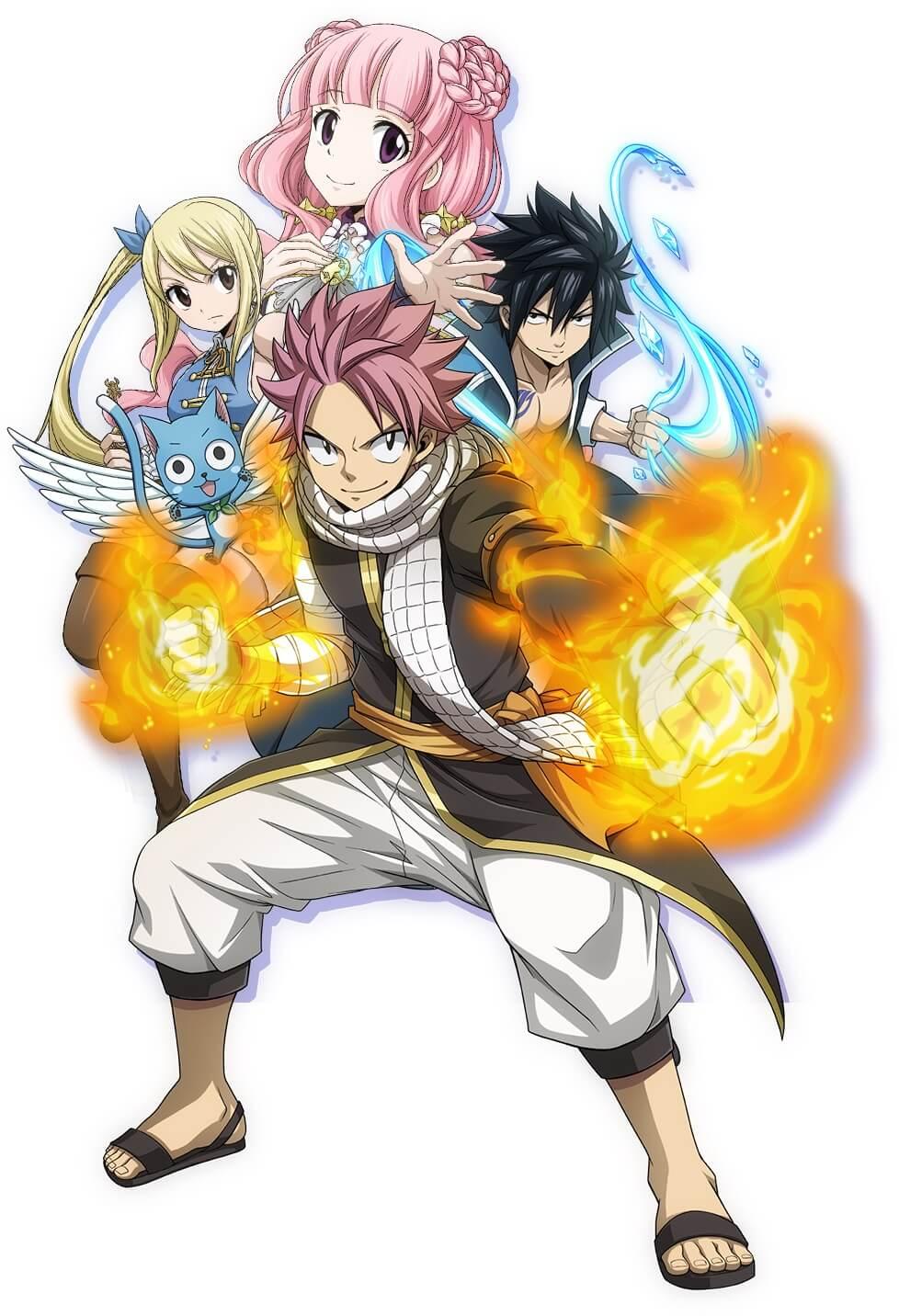 Fairy Tail anuncia jogo RPG para Smartphone