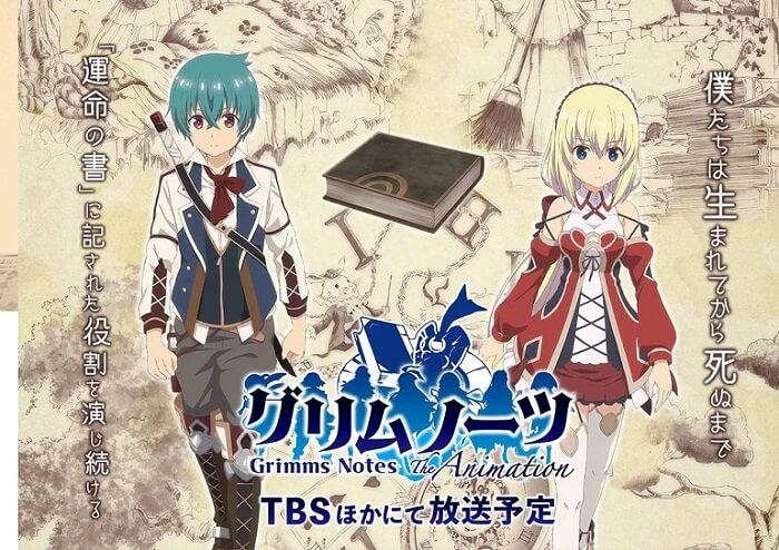 Grimms Notes - Anime Revela Primeiro Vídeo Promo