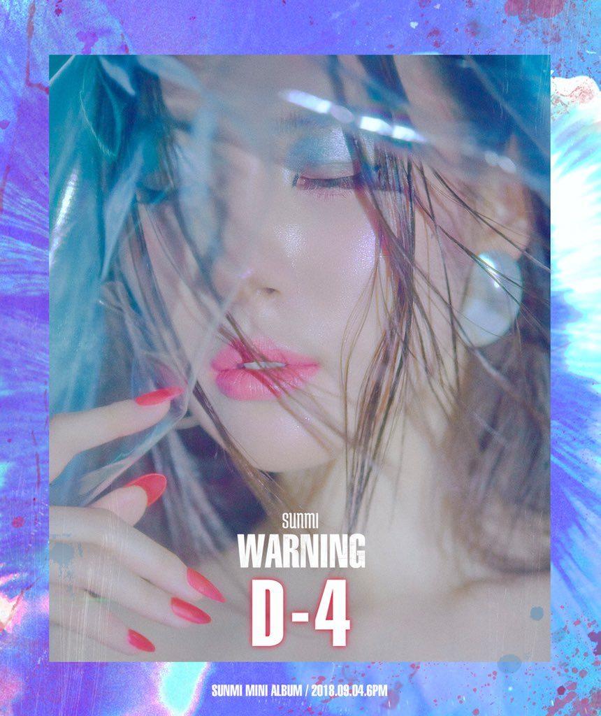 Sunmi revela novas Imagens e Vídeos para Comeback em Setembro