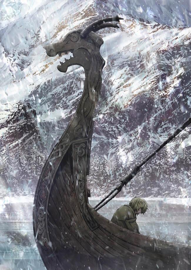 Vinland Saga - Anime revela Poster e Equipa Técnica