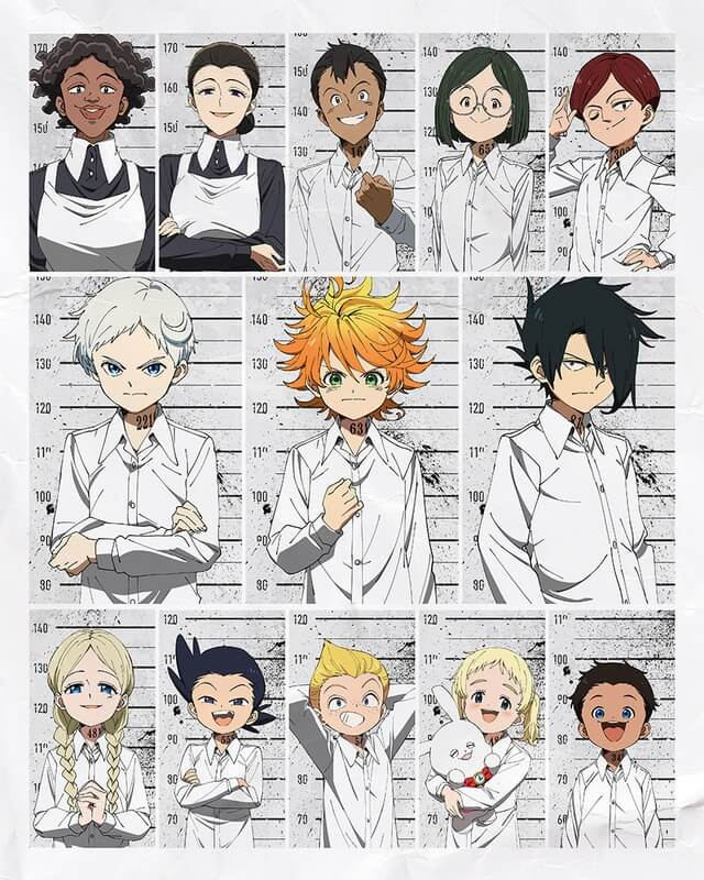 Yakusoku no Neverland - Anime revela Novo Poster e Staff | Yakusoku no Neverland - Manga Entra no ARC FINAL