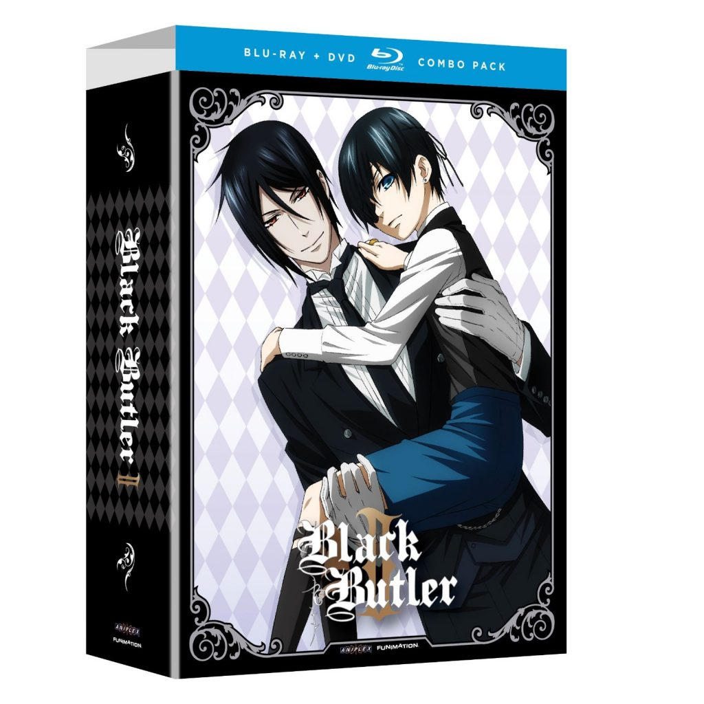 DVDs Blu-rays Anime Abril 2012 - Black Butler II Blu-ray DVD Combo