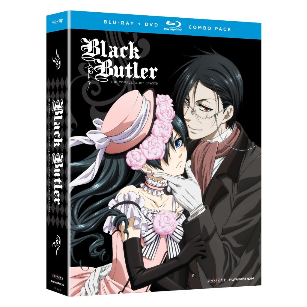 DVDs Blu-rays Anime Abril 2012 - Black Butler The Complete First Season Blu-ray DVD Combo