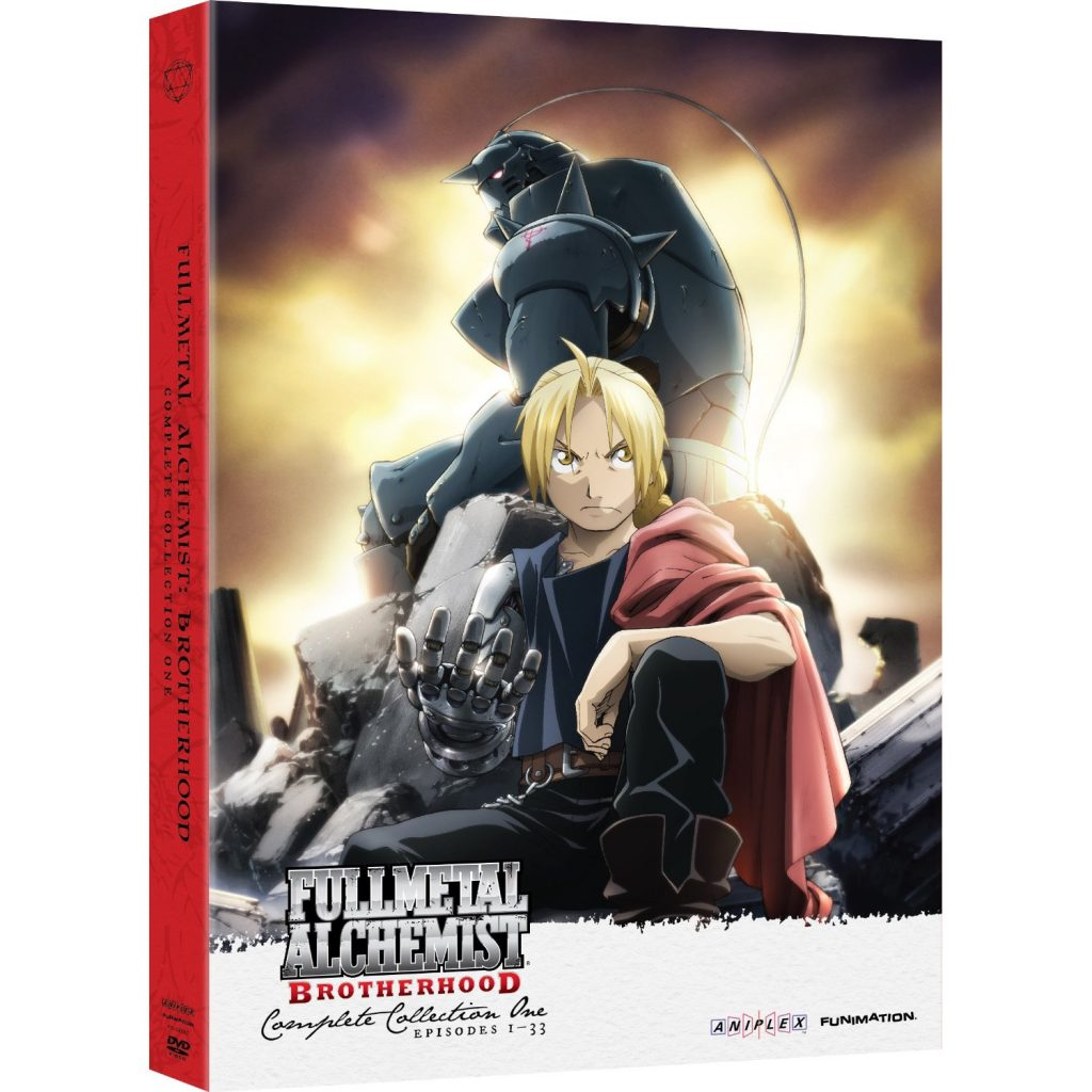 DVDs Blu-rays Anime Abril 2012 - Fullmetal Alchemist Brotherhood Complete Collection One DVD