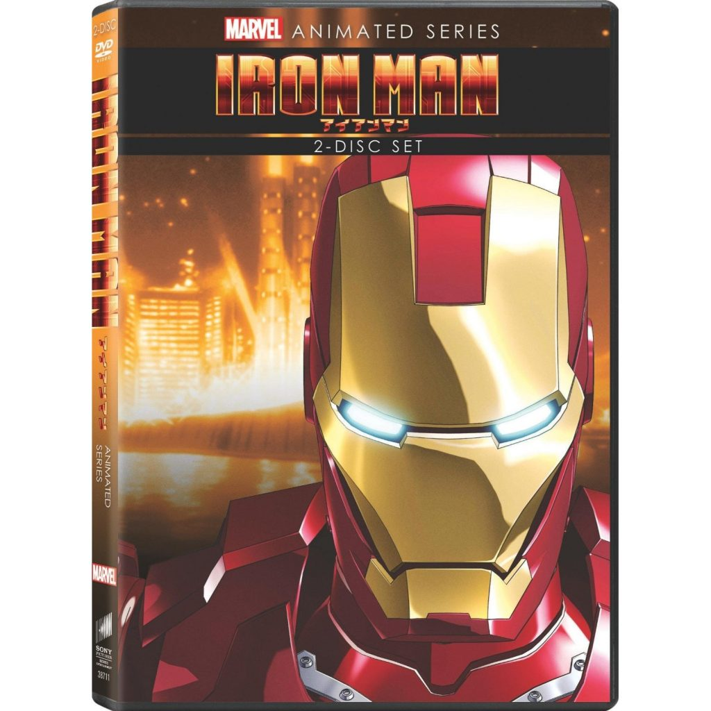DVDs Blu-rays Anime Abril 2012 - Iron Man Marvel Animated Series