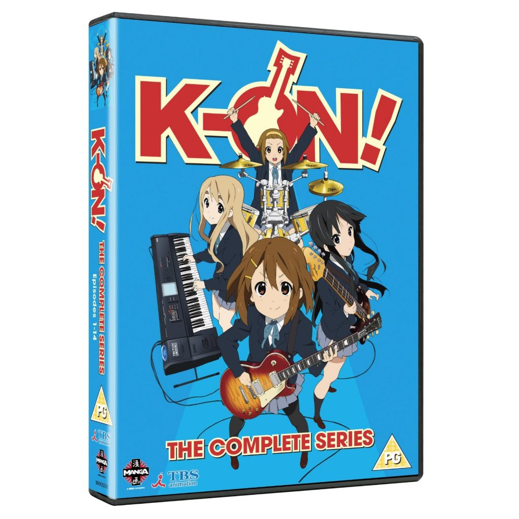 DVDs Blu-rays Anime Abril 2012 - K-On The Complete Series