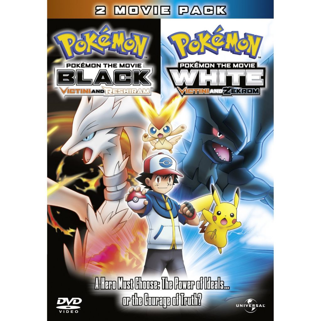 DVDs Blu-rays Anime Abril 2012 - Pokémon the Movie Black & Pokémon the Movie White