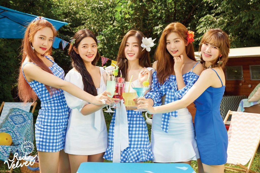 Red Velvet lançam Novos Teasers para Summer Magic