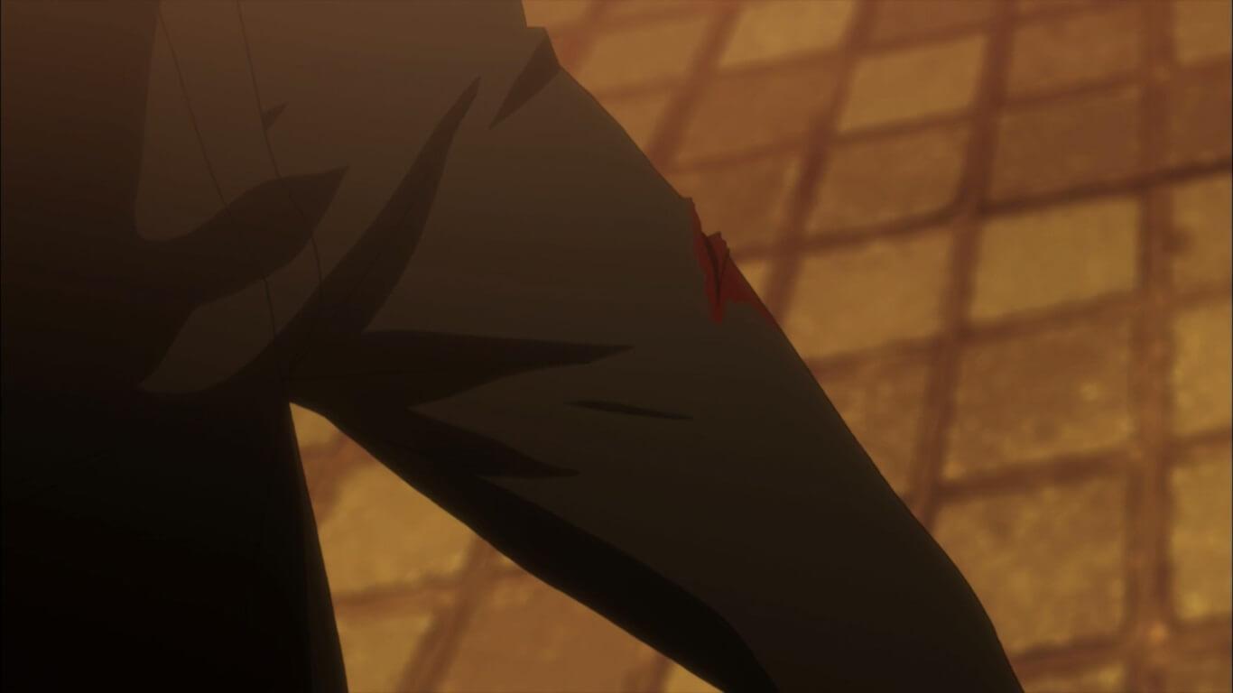 Steins;Gate 0 - Opinião Episódio 19 ferida no braço