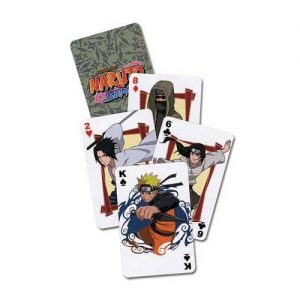 Às Compras pelo Japão IV - Baralho Cartas Naruto Shippuden