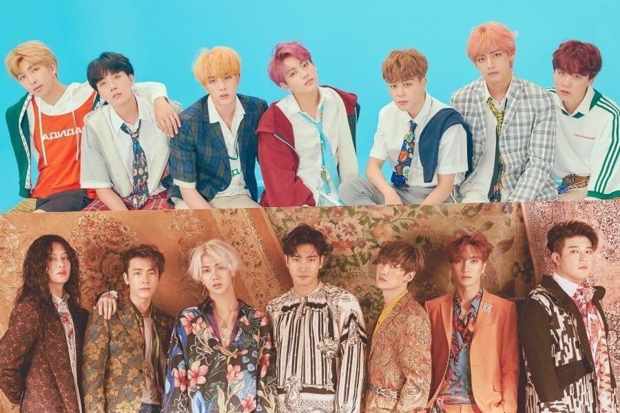 BTS e Super Junior Finalistas dos 2018 People's Choice Awards