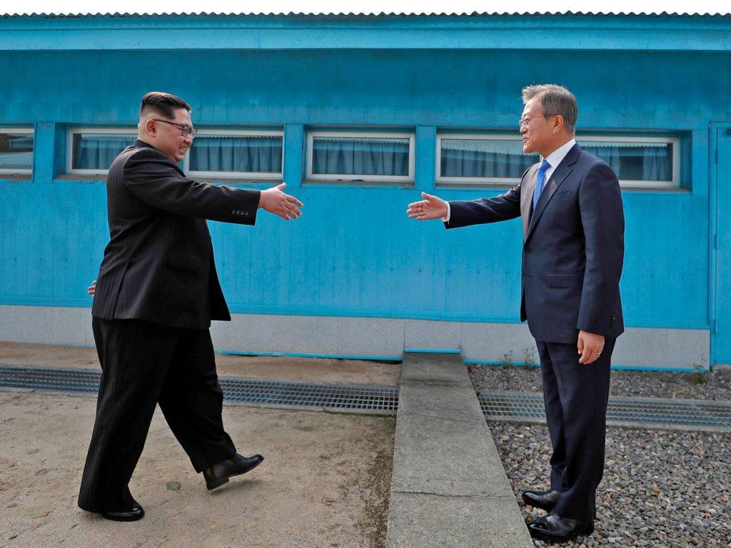 Cimeira Histórica entre Coreias pode conduzir ao final da Guerra