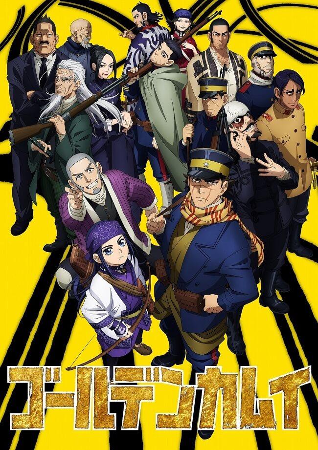 Golden Kamuy Anime - Segunda Temporada revela Poster