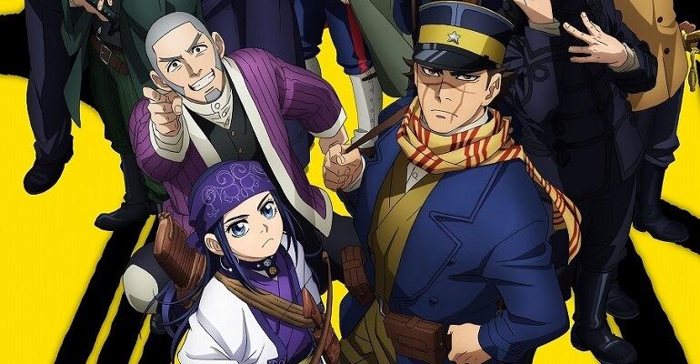 Golden Kamuy Anime - Segunda Temporada revela Poster | Golden Kamuy vai receber Segundo Original Anime DVD