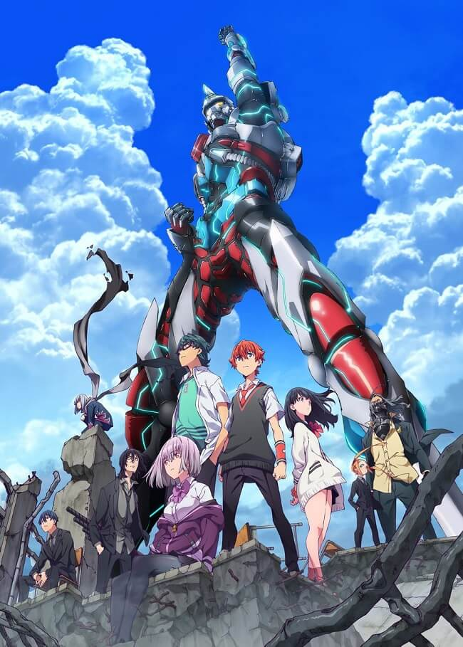 SSSS.Gridman - Anime revela Novo Trailer e Estreia